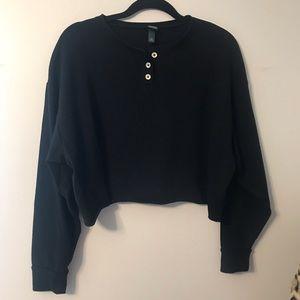 🖤Cropped Sweatshirt